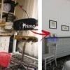 Prima e dopo: l'appartamento cambia look, e diventa immediatamente un investimento a reddito sul mercato della locazione [Repetto Intermediazioni Immobiliari]