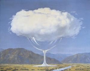 Le nuvole nell arte anima dei cieli e specchio dell animo - Magritte uomo allo specchio ...