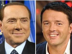 Berlusconi Renzi 2