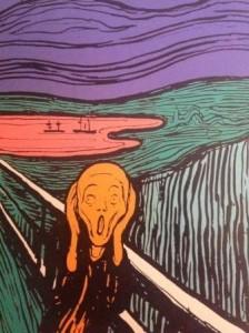Warhol Urlo di Munch