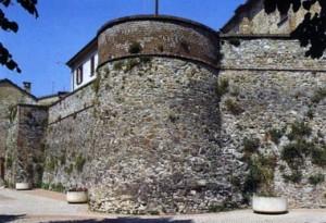volpedo mura del castrum medioevale