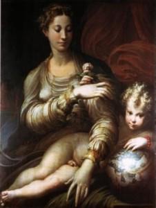 Madonna della rosa Parmigianino
