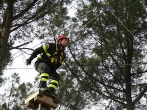 Vigili del fuoco addestramento