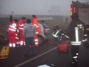 Vigili del fuoco incidente
