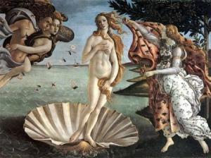 Botticelli, nascita di Venere