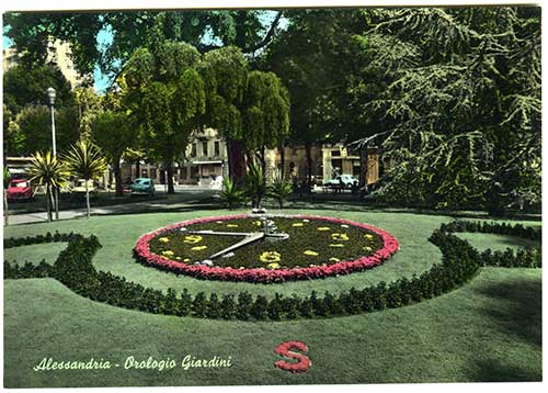 Lorologio floreale dei giardini pubblici [un tuffo nel passato