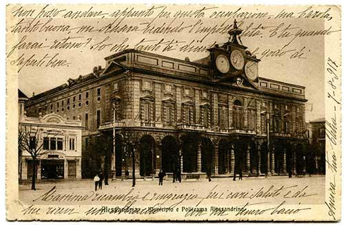 Edizione riservata Alberto Colombo – Alessandria. Spedita il 7 Agosto 1917.