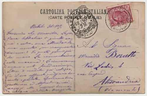 Cartolina-corrispondenza---A-Maurilio-Boratto---Verso