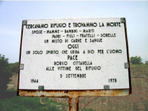 Copia di Borgo Cittadella: sabato la commemorazione delle vittime dei bombardamenti del 5 settembre 1944 CorriereAl 3