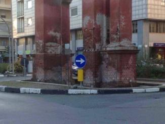 Le fontane e l'Arco di piazza Matteotti CorriereAl