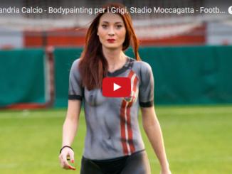 Bodypainting per i Grigi al Moccagatta
