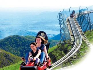 Alpine Coaster: le montagne russe sulla cima del Mottarone [Il gusto del territorio] CorriereAl 1