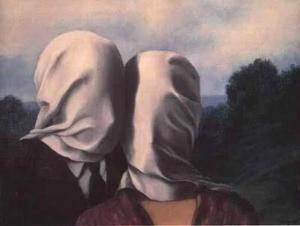 Les amants di Magritte: L'Amore che va oltre l'impossibilità di Amarsi [Very Art] CorriereAl 1