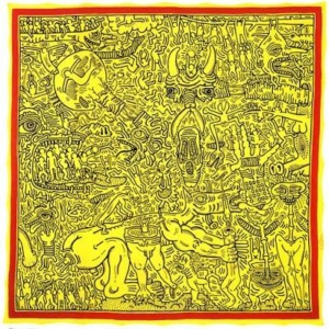 Keith Haring, About Art [Very Art] CorriereAl 1