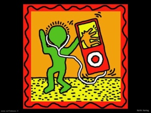 Keith Haring, About Art [Very Art] CorriereAl 3