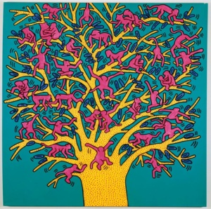 Keith Haring, About Art [Very Art] CorriereAl