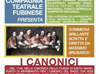 """Sabato a Rivarone """"I Canonici"""" di Massimo Brusasco CorriereAl"""