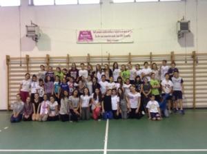 La scuola media Vochieri con il Peter Larsen Dance Studio alle Olimpiadi della Danza CorriereAl 11