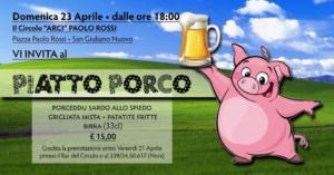 Piatto Porco