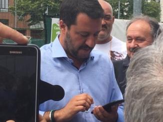 """Salvini: """"Il Cristo diventerà un quartiere vivibile: ci tornerò in autunno, con Cuttica sindaco"""" CorriereAl 6"""