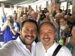 """Salvini: """"Liberatevi del peggior sindaco d'Italia: dipende solo da voi"""". Cuttica: """"C'è una cupola che soffoca Alessandria: ma certi accordi di potere saranno un boomerang"""" CorriereAl 12"""