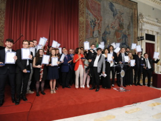 """I chitarristi del """"Vivaldi"""" vincitori di premi in concorsi nazionali e internazionali CorriereAl 1"""
