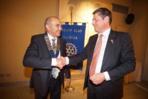 """Rotary Valenza: """"Alla manutenzione della rotatoria ci pensiamo noi"""" CorriereAl 2"""