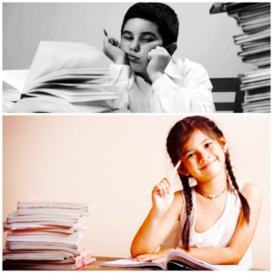 Basta basta compiti [Il Flessibile] CorriereAl