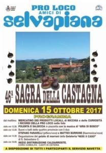Domenica in Val Curone la Sagra della Castagna della Pro Loco Amici di Selvapiana CorriereAl