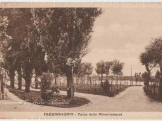 Il Parco della Rimembranza di Alessandria [Un tuffo nel passato] CorriereAl 1