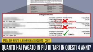 """M5S: """"Controllate le vostre bollette della tassa rifiuti: potrebbero essere sbagliate per eccesso"""" CorriereAl 2"""