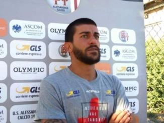 Alessio Sestu dopo Carrarese-Alessandria (seconda parte) CorriereAl