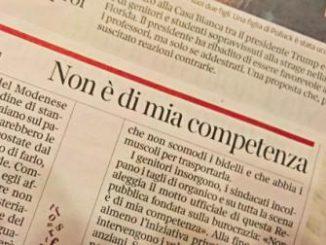 Non è di mia competenza [Il Flessibile] CorriereAl 1