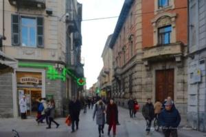 Corso Roma e le pietre d'inciampo [Un tuffo nel passato] CorriereAl 1